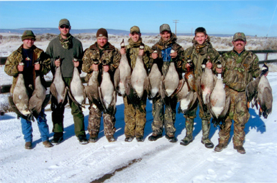Canadian Geese Hunt, Modoc County California